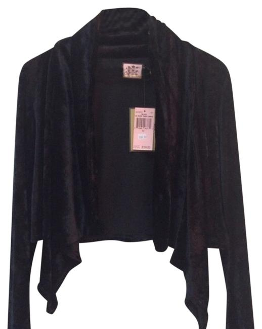 Preload https://item3.tradesy.com/images/juicy-couture-cardigan-black-4633147-0-0.jpg?width=400&height=650
