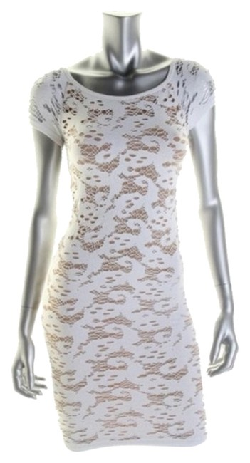 Preload https://item4.tradesy.com/images/guess-dress-white-nude-4633213-0-0.jpg?width=400&height=650