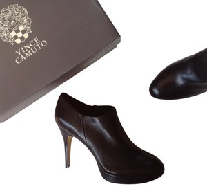 Vince Camuto Leather Shootie black Boots