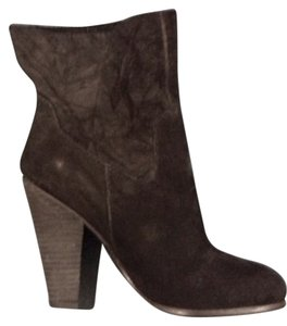 JOE'S Suede Western Ankle Boot Black Boots