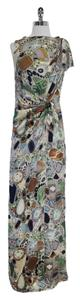 Maxi Dress by Missoni Print Silk Draped Maxi