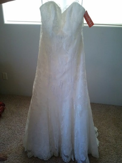Wtoo Ivory Lace Natalia 12421 Vintage Wedding Dress Size 4 (S)