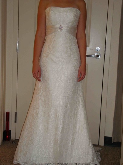 Preload https://item2.tradesy.com/images/davinci-bridal-ivory-lace-8345-traditional-wedding-dress-size-4-s-46491-0-0.jpg?width=440&height=440