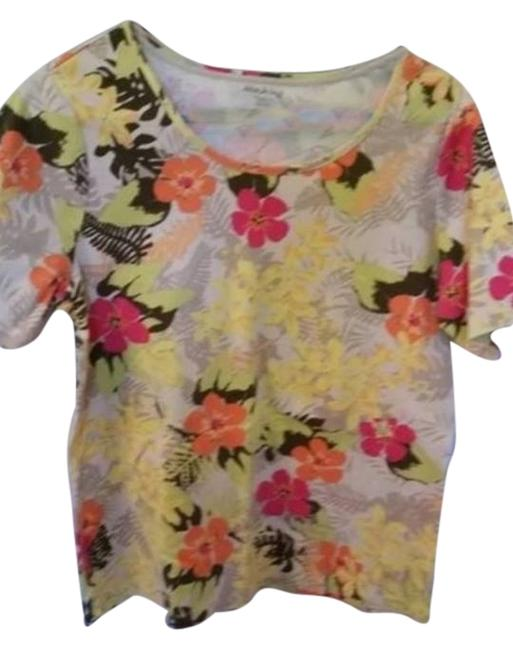 White Stag Top floral