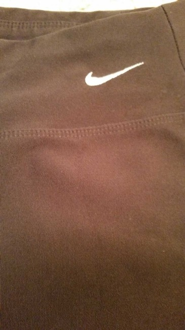 Nike Nike Fit DRY Brown Athletic Espresso Brown Poly/ Spandex Swoosh