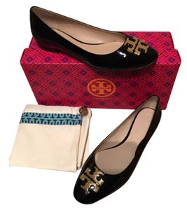 Tory Burch Patent Leather 7 Size 7 Black Flats