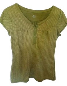 No Boundaries Top Green