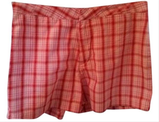 Preload https://item1.tradesy.com/images/old-navy-red-plaid-women-s-cotton-redpinkwhite-casual-size-4-s-27-4650160-0-0.jpg?width=400&height=650