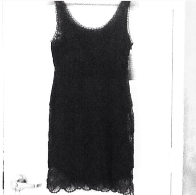 85%OFF Boston Proper Black Flirty Crochet Tank Dress - 50% Off Retail