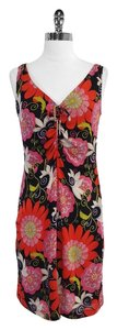 Trina Turk short dress Floral Print Silk Blend Sleeveless on Tradesy