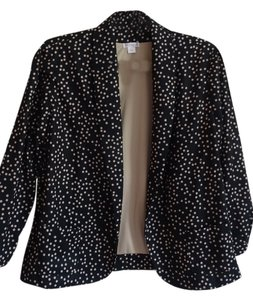 Xhilaration black with Tan Dots Jacket