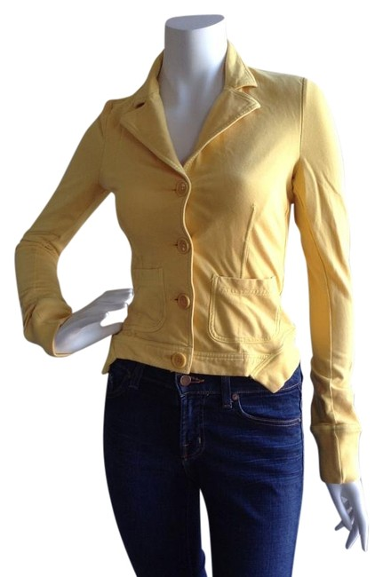 Loops by Robert in't 'veld Yellow Blazer