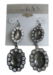 Guess Crystal Chandelier Earrings