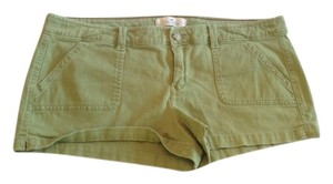 Hollister Cargo Shorts Green