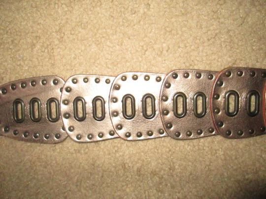 Fossil Taupe Fossil studded belt
