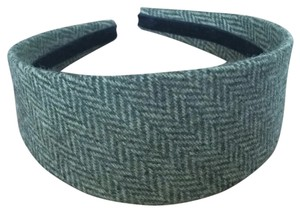 J.Crew green tweed headband