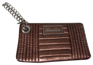 United Colors of Benetton Bronze Clutch