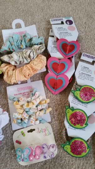 Limited, Gymboree, Children's Place Hair accesories assorted for girls