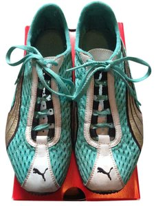 Puma Mesh Teal Embroidered sea foam green Athletic