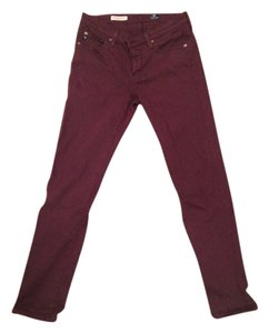 Adriano Goldschemieo (AG) Anthropologie Colored Denim Ag Stretch Skinny Jeans