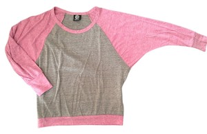 Bobeau T Shirt Pink/Brown