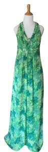 Green Maxi Dress by Oleg Cassini