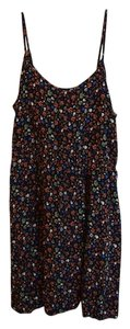 Divided by H&M short dress Black Strappy Badass Skull Rose Pattern Skull And Rose Multi Multi-color Hm Hm Adjustable Spaghetti Strap Adjustable Mid on Tradesy