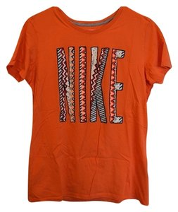 Nike Funky, Tee, Tshirt, T-shirt, Gym, Workout, Work Out, Orange, Graphic, Graphic Tee