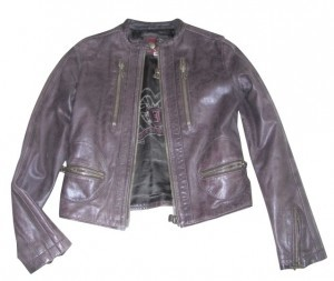 J&Co Brown Leather Jacket