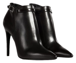 Burberry Woolwell Made In Italy Fashion Ankle Black Boots