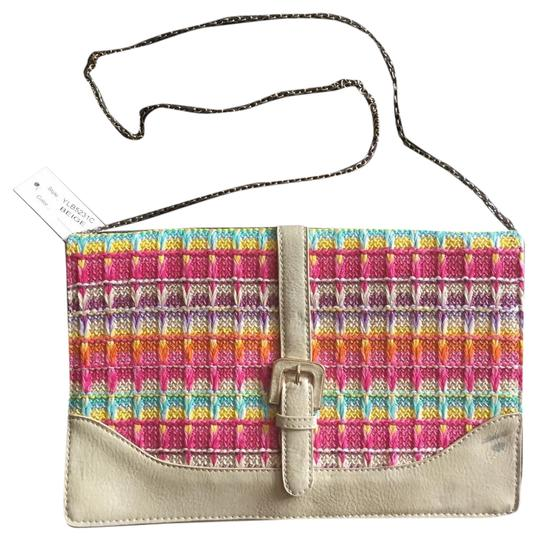 Other Boutique Summer Beige Tropical Cross Body Bag