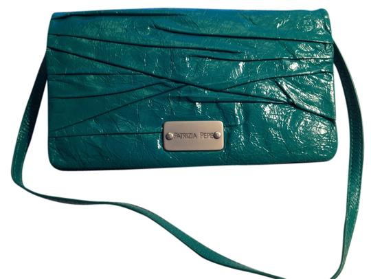 Preload https://item2.tradesy.com/images/patrizia-pepe-crinkle-leather-clutchwallet-teal-clutch-4656331-0-0.jpg?width=440&height=440