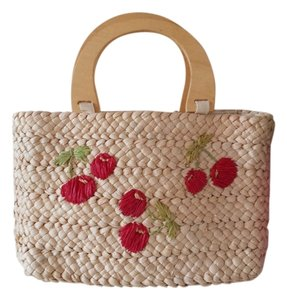 Other Summer Floral Travel Natural Beach Bag
