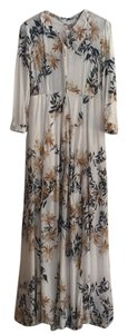 Ivory combo Maxi Dress by Free People