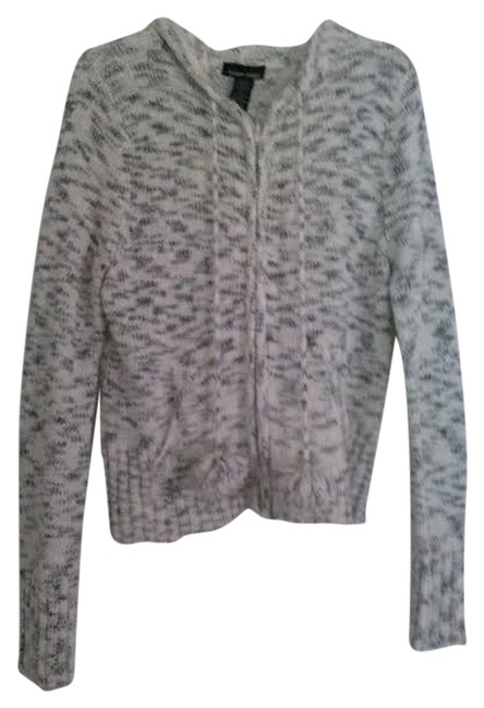 Preload https://item5.tradesy.com/images/sweater-project-white-and-black-spring-jacket-size-16-xl-plus-0x-4657369-0-0.jpg?width=400&height=650