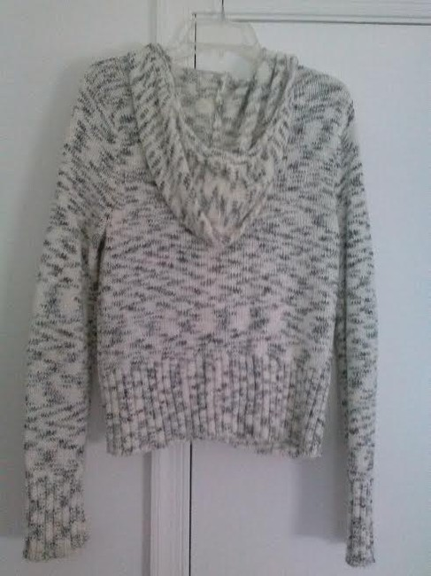 Sweater Project White and Black Jacket