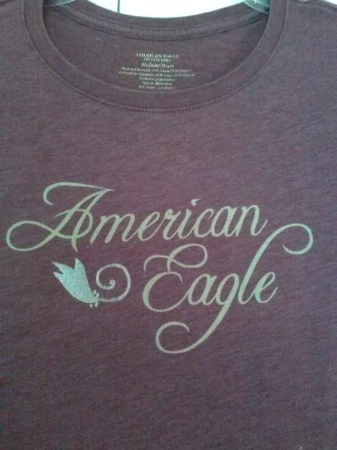 American Eagle Outfitters T Shirt Purple