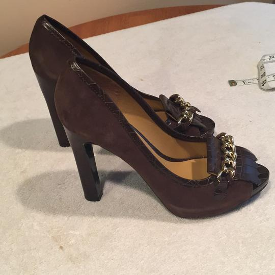Nine West Brown Pumps