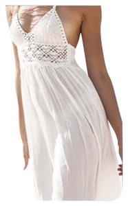 Other Brand New White Bathing Suit Cover Up/Beachwear Tag Sz XXL (Fits L-XL Best)