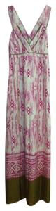 Multi-Colored Maxi Dress by Ann Taylor LOFT