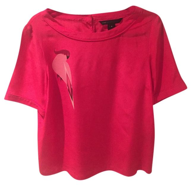 Preload https://item2.tradesy.com/images/marc-by-marc-jacobs-top-hot-pink-4658281-0-0.jpg?width=400&height=650