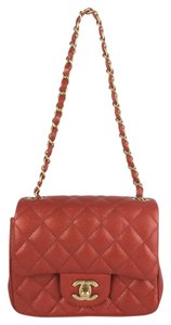 Chanel Quilted Caviar Mini Shoulder Bag
