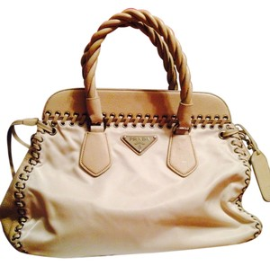 Prada Satchel in Cream