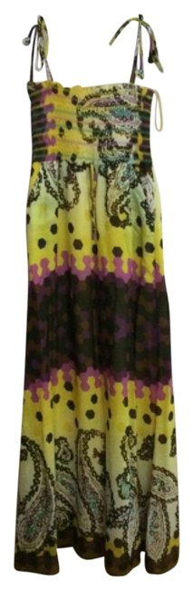 Preload https://item4.tradesy.com/images/chelsea-and-violet-yellow-long-casual-maxi-dress-size-6-s-4658413-0-0.jpg?width=400&height=650