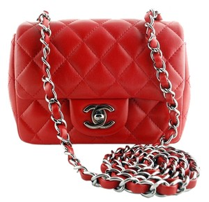 Chanel Mini Classic Flap Cc Crossbody Mini Flap Shoulder Bag