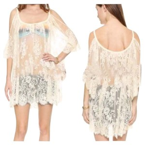 Other Brand New Oversized Lace Coverup Beige/White/Black Sz M-XL (Runs small)