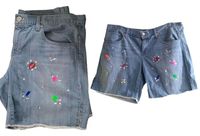Preload https://item4.tradesy.com/images/gap-blue-boyfriend-denim-hand-applied-neon-crystals-jeweled-denim-cut-off-shorts-size-12-l-32-33-4658728-0-0.jpg?width=400&height=650