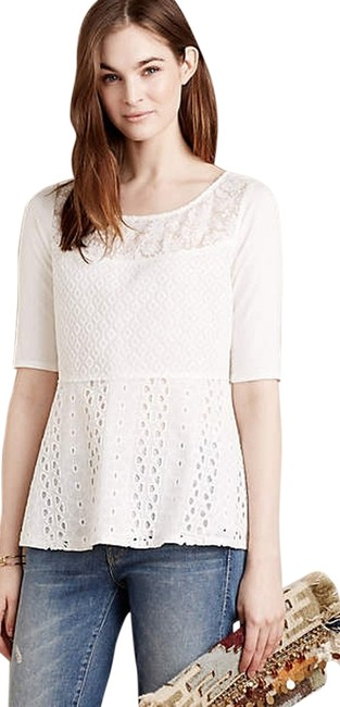 Preload https://item2.tradesy.com/images/anthropologie-motif-amelia-by-tiny-white-crochet-new-blouse-size-8-m-4659076-0-2.jpg?width=400&height=650
