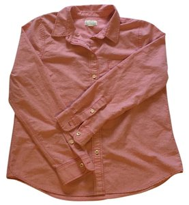 Madewell Button Down Shirt Salmon pink