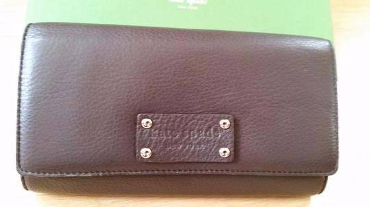 Kate Spade Kate Spade Sander Westbury Chocolate Brown Leather Wallet
